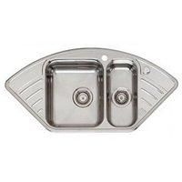 Мойка кухонная Reginox Empire L15 LUX KGOKG Left сталь