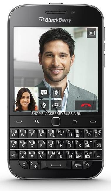 BlackBerry Classic Q20 LTE 4G черный, SQC100-1