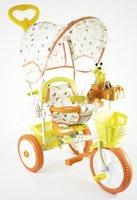 Детский трехколесный велосипед Jaguar (цвет: оранжевый)