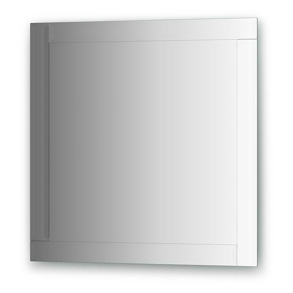 Зеркало Evoform Style (BY 0809) (с зеркальным обрамлением) (70 см) (серебро)