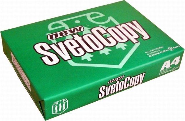 Бумага SvetoCopy A4 80г/м2 500 листов 146CIE