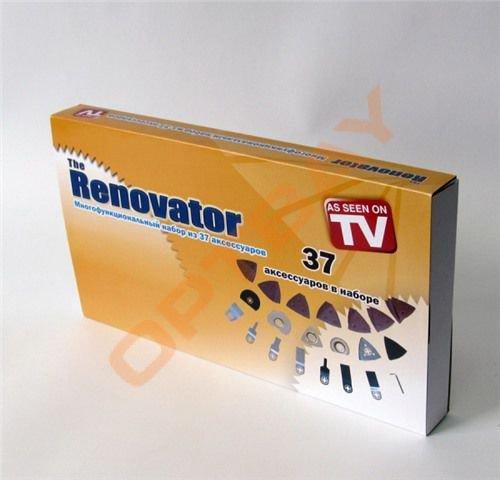 Набор аксессуаров (насадок) для инструмента Реноватора Renovator Multi Tool 37 шт