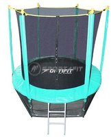 Батут Optifit Like Green 8ft - фото 1