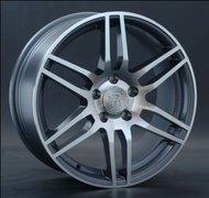 литой колесные диски Replica Mercedes (MB104) 7.5x17 ET46 PCD5*112 (Тёмное серебро полностью полированный) DIA 66.6 - фото 1