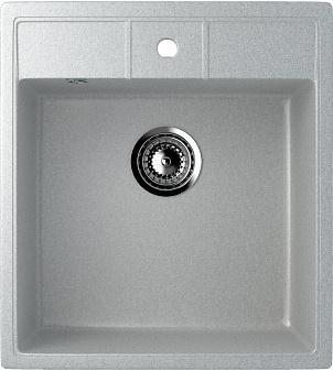 """кухонные мойки из искусственного мрамора Мойка кухонная Ulgran U-406-310 серый"""""""