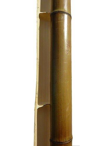 Половинка бамбука обожженная d 50-60 мм L=2,8-3м