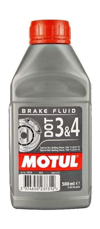 Жидкость тормозная Motul DOT 3&4 Brake Fluid, 0,5 л. art00131236