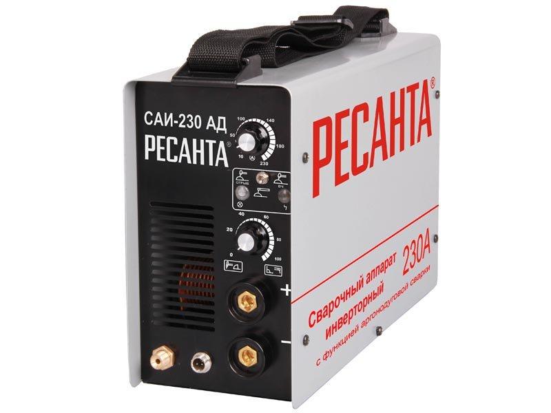 Сварочный аппарат с функцией аргонодуговой сварки Ресанта САИ-230 АД