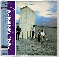 Who, The - Who's Next/ CD [ SHM-CD/ Cardboard Sleeve ( mini LP)/ 20-page Booklet/ Obi Strip] [ Limited Edition] ( Remastered From The UK Original Analogue Master Tapes 2010, Reissue 2013)