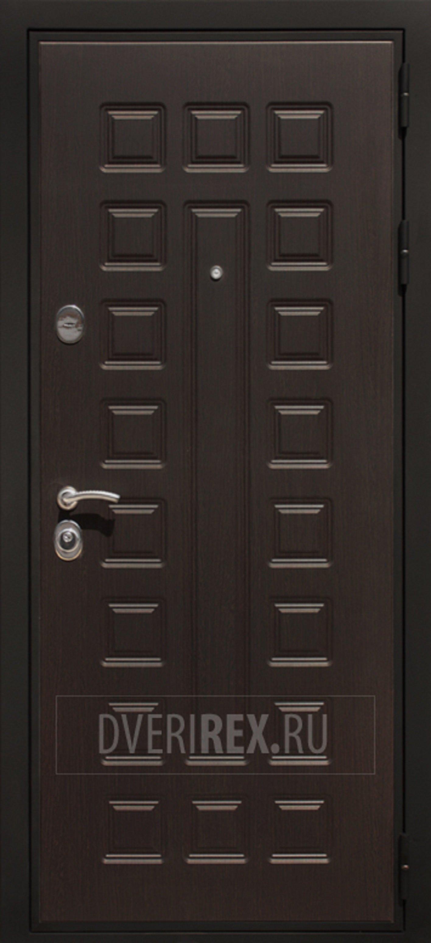 Входная Дверь Rex Премиум 3 Венге [Цвет входной двери: Венге]