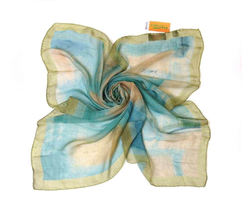 Красивый женский платок-косынка Club Seta 15204