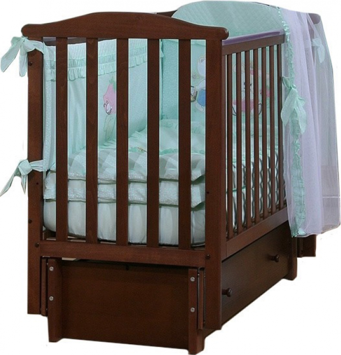 Кровать Лель АБ 15.3 Лютик венге