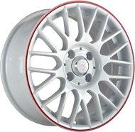 Литые диски NZ Wheels SH668 6.5x16/5x112 D57.1 ET50 Белый+красный - фото 1