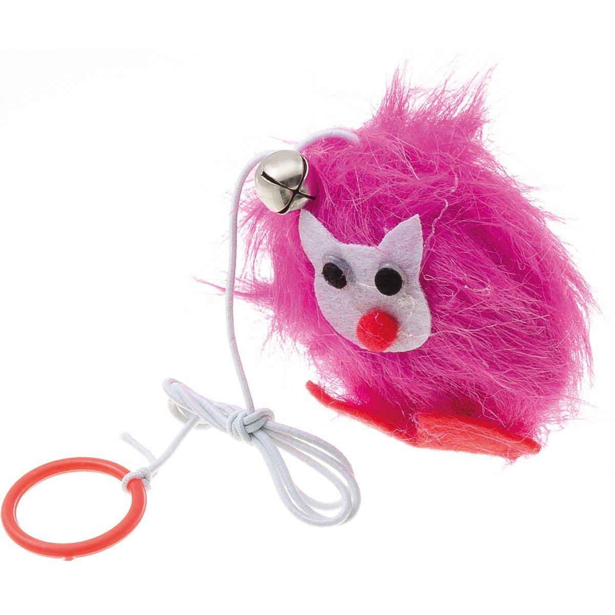 """V.I.Pet Игрушка для кошки с мятой """"Лиса"""", Pet Line C-108/10/"""