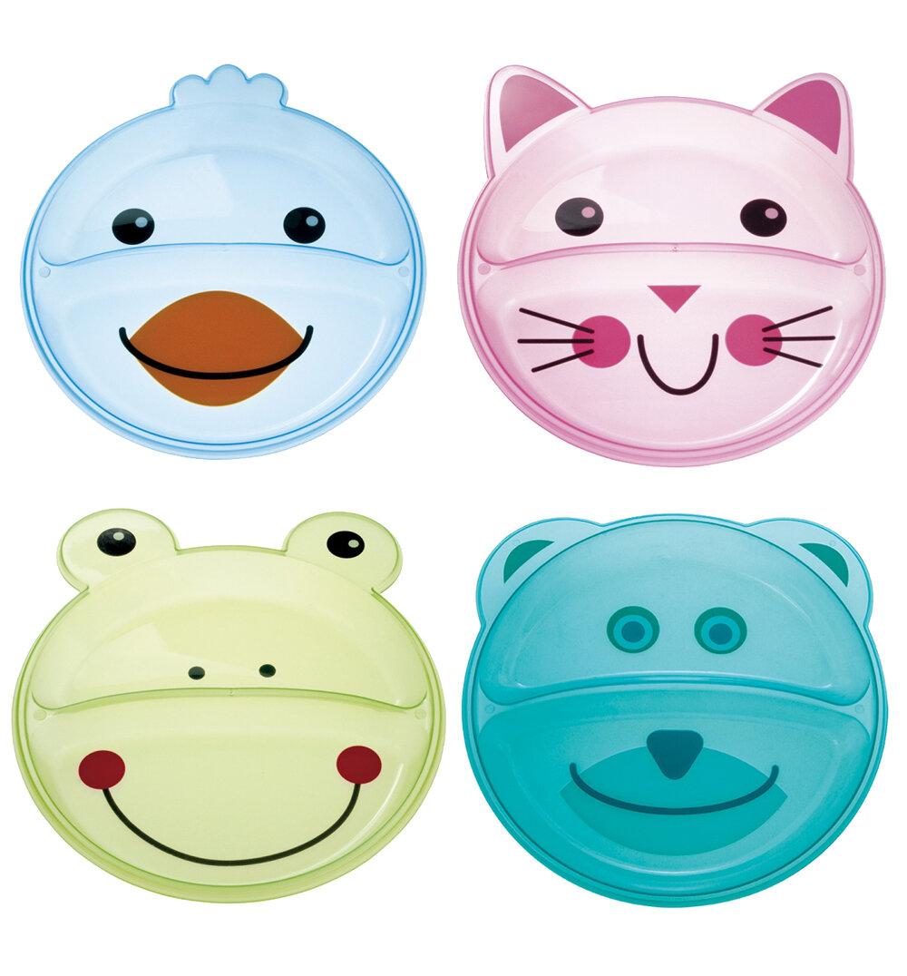 Тарелка Canpol Babies Animals с разделением (74/005)