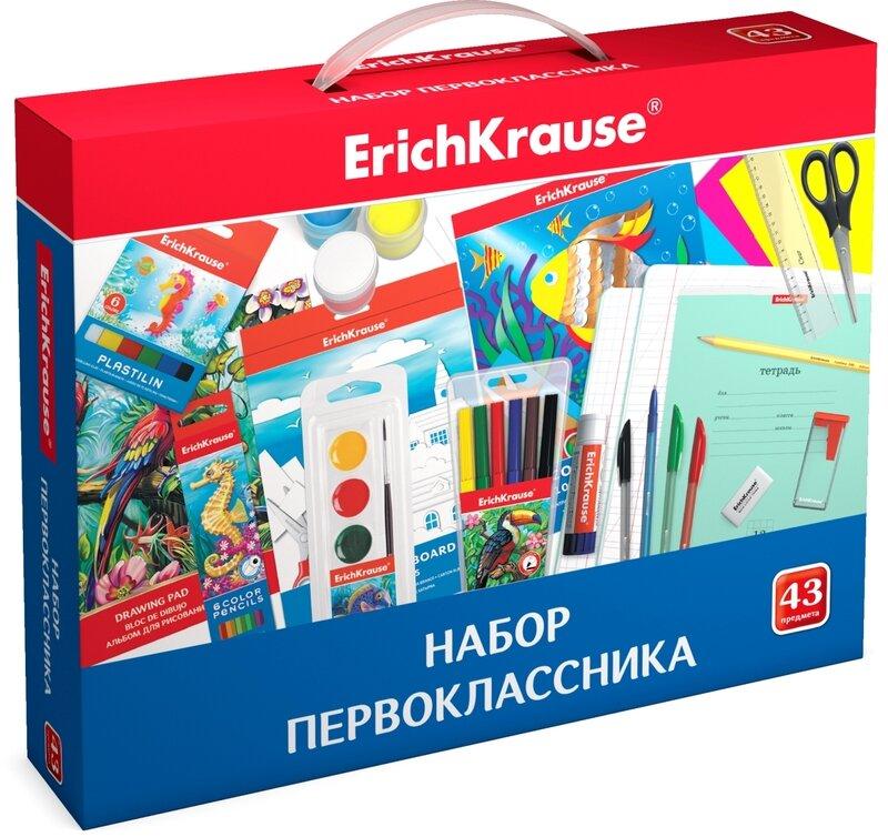 Набор первоклассника ErichKrause® (43 предмета)
