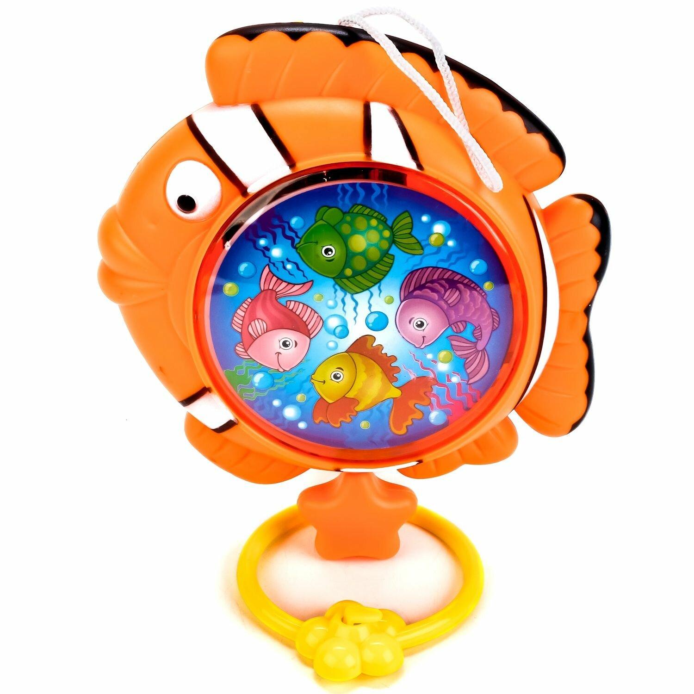 Прорезыватель-погремушка Умка Рыбка B1391993-R