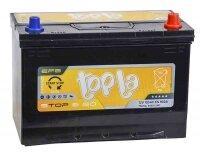 Аккумулятор автомобильный Topla EFB Stop&Go Asia 105 А/ч 900 А обр. пол. 112005 Азия авто (306x173x225) 125D31L с бортиком