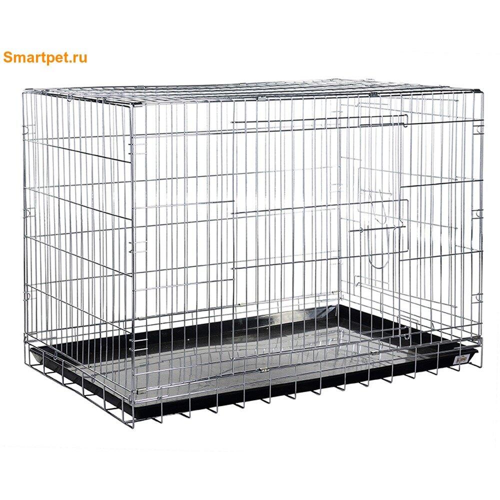 Kredo Клетка для домашних животных хромированная, 76x47x55см