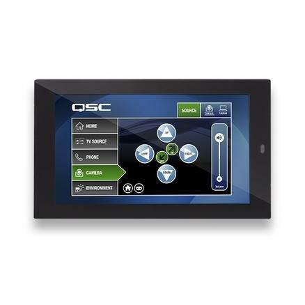 Сенсорный контроллер QSC QSC TSC-55W-G2-BK / Q-SYS 5.5 PoE