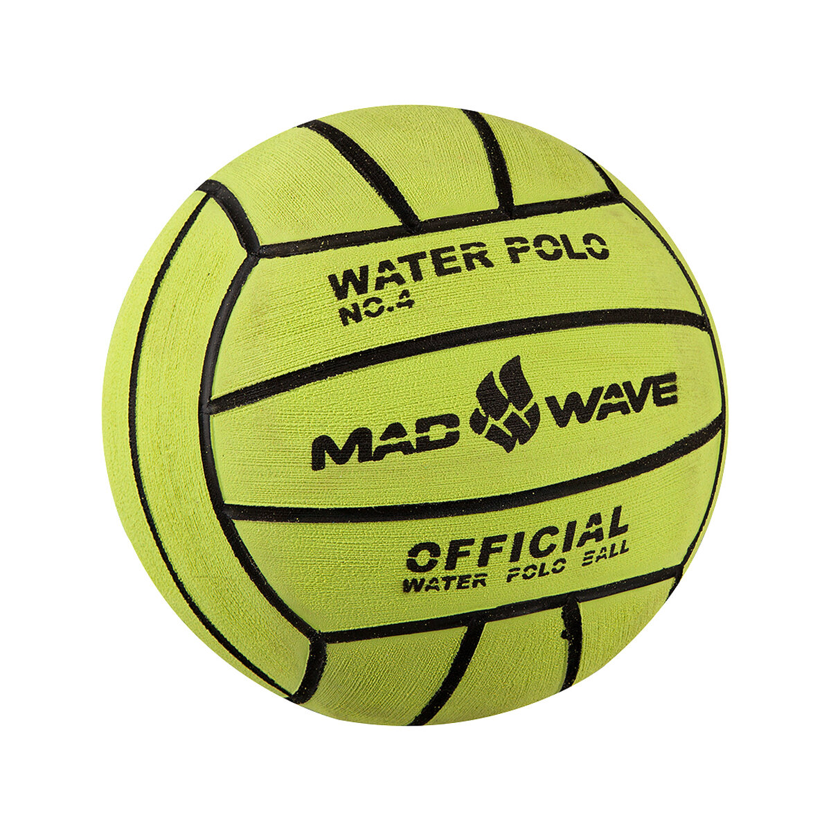 Мяч для водного поло Mad Wave Water Polo Ball Official size Weight 4