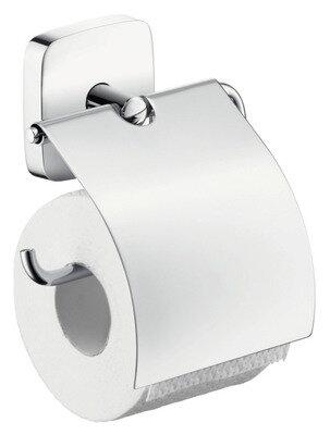 Держатель туалетной бумаги Hansgrohe PuraVida с крышкой