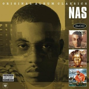 "Nas ""Original Album Classics (It Was Written / I Am... / Stillmatic) re-canvass"""