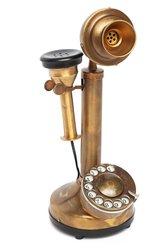 Телефон SECRET DE MAISON Александра Бэлла ( mod.14060 ), латунь, 13х34см, античная медь