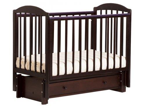 Детская кроватка Kubanlesstroy Кубаночка-5 БИ 41.3, белая