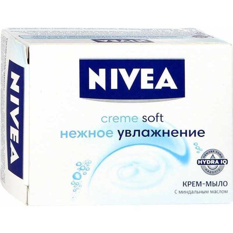 Крем-мыло Софт Nivea