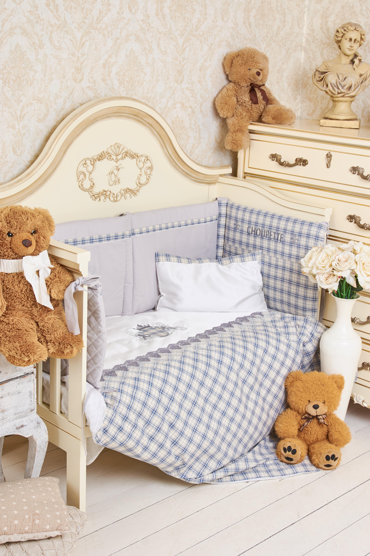 Комплект постельного белья Де-люкс (8 предметов) нарядный для мальчика