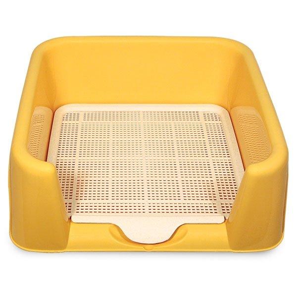 Туалет для собак с сеткой (52х40х15см), Triol P652