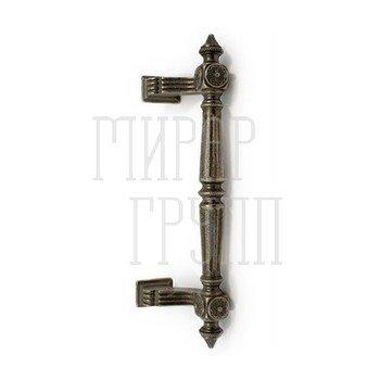 Дверные ручки-скобы Дверная ручка-скоба Pasini Patrizio (280/210 mm) старое серебро