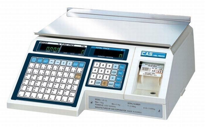 Весы торговые с печатью этикеток Cas LP-06 (v.1.6)