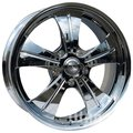 Racing Wheels Premium HF-611 10x22 5x120 ET 45 Dia 72,6 (Chrome) - фото 1