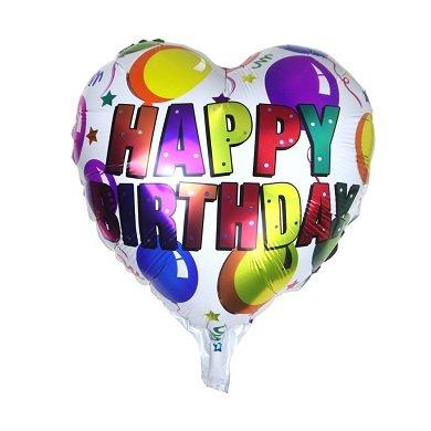 Happy Birthday с шариками. Воздушные шарики из фольги
