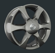 Диски Replay Replica Nissan NS45 7x17 5x114,3 ET55 ЦО66.1 цвет GM - фото 1