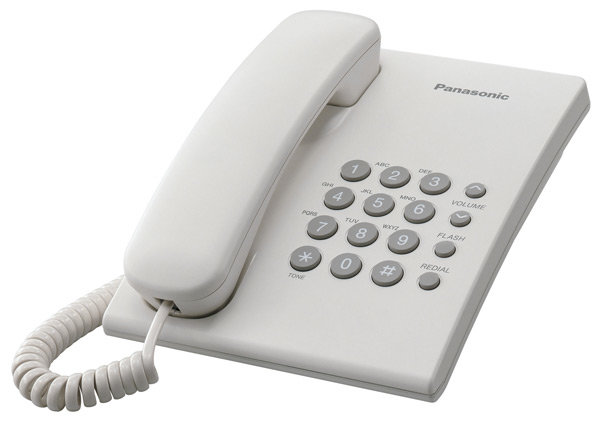 Телефонный аппарат Panasonic KX-TS2350RU white