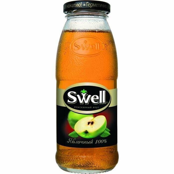 Сок SWELL яблоко 0,25л