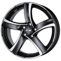 Колесные диски ALUTEC Shark 6 x 15 5*114,3 Et: 45 Dia: 70,1 Racing Black Front Polished - фото 1