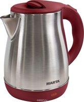 Marta MT-1091, Red электрический чайник - фото 1