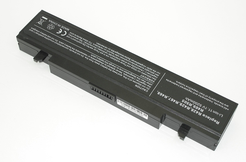 Аккумуляторная батарея для ноутбука Samsung R420 R425 R510 R525 R540 R580 R730 4400mah черная