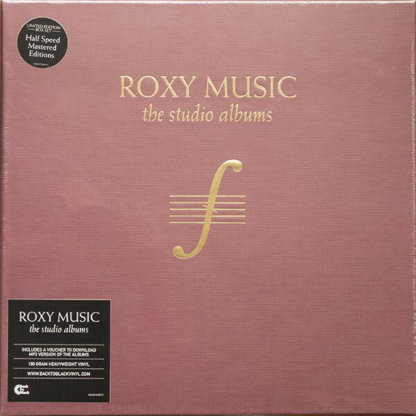 Виниловая пластинка Roxy Music The Complete Studio Albums (8 Lp Box)