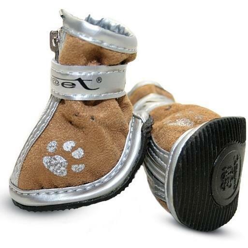 Обувь для собак Triol 085YXS, размер 8, размер 11см., коричневый