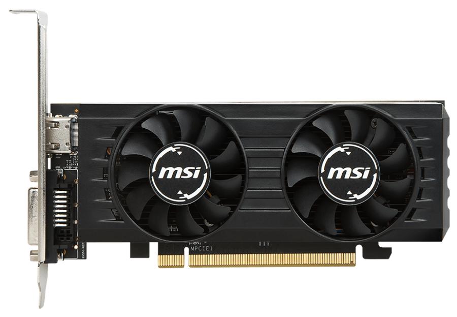 Видеокарта MSI Radeon RX 550 1203Mhz PCI-E 3.0 2048Mb 7000Mhz 128 bit DVI HDMI HDCP (RX 550 2GT LP OC)