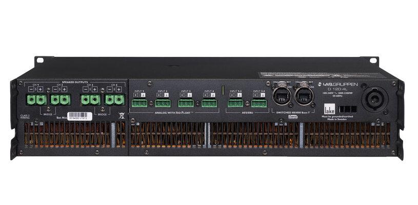 Усилители многоканальные Lab.gruppen D 120:4L Lake