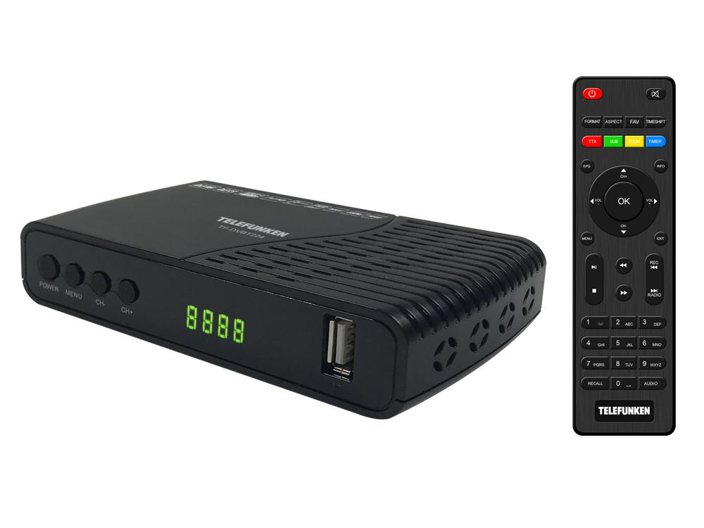 DVB-T2 ресивер Telefunken tf-dvbt-224
