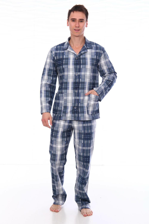 Пижамы Ивановотекстиль Пижама мужская,модель203,фланель (Адриано, вид 2)