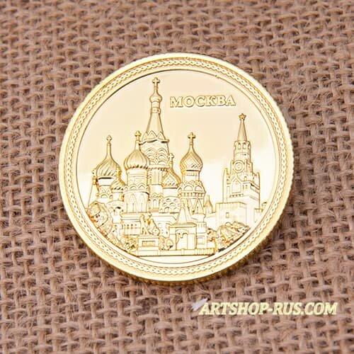 Сувенирная монета Москва