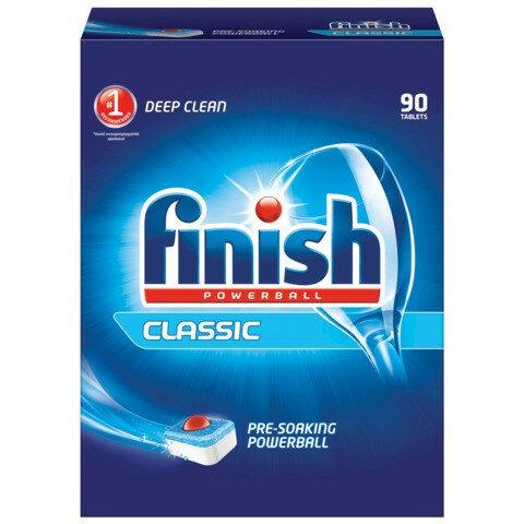 Средство для мытья посуды в посудомоечных машинах 90 шт., FINISH (Финиш) Classic